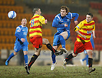St Johnstone v Partick Thistle....09.02.11  Scottish Cup 5th Round.Liam Craig scores his wonder volley to make it 2-0.Picture by Graeme Hart..Copyright Perthshire Picture Agency.Tel: 01738 623350  Mobile: 07990 594431