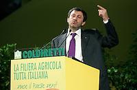 Il Presidente della Coldiretti Sergio Marini .Coldiretti - Assemblea Nazionale 2010..Roma, 2 Luglio 2010..Photo Serena Cremaschi Insidefoto