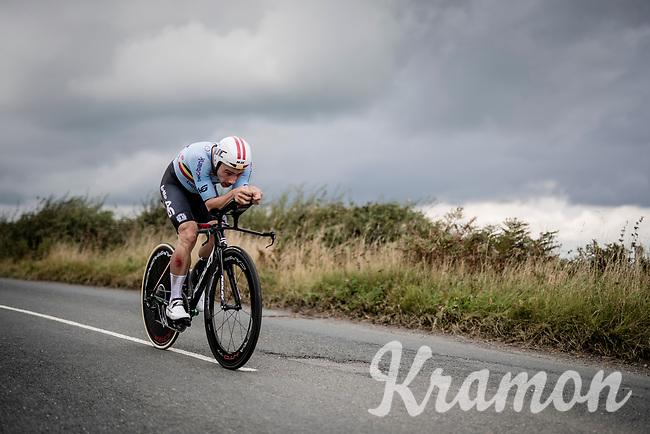 Victor Campenaerts (BEL/Lotto-Soudal)<br /> Elite Men Individual Time Trial<br /> from Northhallerton to Harrogate (54km)<br /> <br /> 2019 Road World Championships Yorkshire (GBR)<br /> <br /> ©kramon