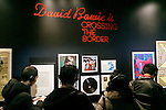 David Bowie Is exhibition debuts in Tokyo on January 5, 2017 in Tokyo, Japan. More than 300 items were displayed including original costumes, handwritten lyrics, photographs and films of the legendary singer who passed away on January 8, 2017 at the age of 69. Ever since its kickoff at London's Victoria and Albert Museum (V&A) in 2013, the exhibition has travelled to various cities worldwide including Paris, Berlin and Chicago. The exhibition officially opens on January 8 which would have been Bowie's 70th birthday and runs til April 9. (Photo by Rodrigo Reyes Marin/AFLO)