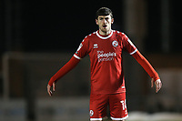 Ashley Nadesan of Crawley Town during Colchester United vs Crawley Town, Sky Bet EFL League 2 Football at the JobServe Community Stadium on 1st December 2020