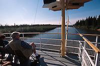 USA, Alaska, Raddampfer Discovery 3 auf dem  Chena-River bei Fairbanks