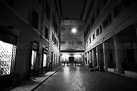 """Italian Parliament: Senate. <br /> <br /> Rome, 23/10/2020. Documenting the """"curfew"""" (coprifuoco) imposed from Friday night in Rome and its surrounding Lazio Region. The local authorities tightened rules and restrictions due to a spike in the Covid-19 / Coronavirus cases. 23 October bulletins sees 19.143 new cases, 91 people died, 182.032 tests made. Today, the President of Lazio Region, Nicola Zingaretti (Leader of the Democratic Party, PD, party member of the Italian Coalition Government), imposed the night curfew, from midnight to 5AM, for 30 days (1.). A new self-certification (autocertificazione, downloadable from here 1.) is needed to leave home which is allowed only for urgent reasons, mainly work and health. Furthermore, the Mayor of Rome, Virginia Raggi, implemented """"no-go zones"""" restrictions from 9PM in some of the areas and squares of the Eternal City famous for the nightlife, including Campo de' Fiori, Via del Pigneto, Piazza Trilussa in Trastevere district and Piazza Madonna de' Monti.<br /> <br /> Footnotes & Links:<br /> 1. http://www.regione.lazio.it/binary/rl_main/tbl_news/ordinanza_regione_lazio_intesa_Ministro_salute__mod_accettate_rev1__ore_24_1_signed.pdf<br /> <br /> March 2020, Coronavirus lockdown in Rome:<br /> - 12.03.2020 - Rome's Lockdown for the Outbreak of the Coronavirus In Italy - SARS-CoV-2 - COVID-19: https://lucaneve.photoshelter.com/gallery/12-03-2020-Romes-Lockdown-for-the-Outbreak-of-the-Coronavirus-In-Italy-SARS-CoV-2-COVID-19/G0000jGtenBegsts/<br /> - 07-23.03.2020 - Villaggio Olimpico Ai Tempi del COVID-19 - Rome's Olympic Village Under Lockdown: https://lucaneve.photoshelter.com/gallery/07-23-03-2020-Villaggio-Olimpico-Ai-Tempi-del-COVID-19-Romes-Olympic-Village-Under-Lockdown/G0000D2L9l0ibXZI/"""