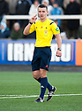 Referee Nick Walsh.