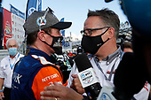 Champion #9 Scott Dixon, Chip Ganassi Racing Honda with Ted Klaus of Honda HPD