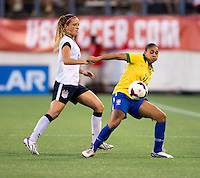 Nene, Kristie Mewis.  The USWNT defeated Brazil, 4-1, at an international friendly at the Florida Citrus Bowl in Orlando, FL.
