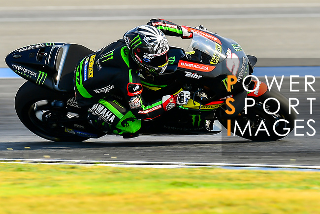 Monster Yamaha Tech 3's rider Johann Zarco of France rides during the MotoGP Official Test at Chang International Circuit on 16 February 2018, in Buriram, Thailand. Photo by Kaikungwon Duanjumroon / Power Sport Images