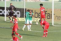Campinas (SP), 10/10/2020 - Guarani-CRB - Waguininho comemora gol do Guarani. Partida entre Guarani e CRB válida pela 15. rodada do Campeonato Brasileiro da Série B no estádio Brinco de Ouro em Campinas, interior de São Paulo, neste sábado (10).