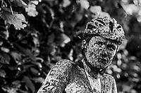 muddy post-race face<br /> <br /> U23 Men's race<br /> Superprestige Gavere / Belgium 2017