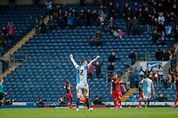 0BLACKBURN, ENGLAND - JANUARY 24:   during the FA Cup Fourth Round match between Blackburn Rovers and Swansea City at Ewood park on January 24, 2015 in Blackburn, England.  (Photo by Athena Pictures/Getty Images)