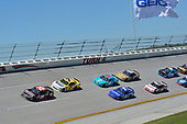 NASCAR Xfinity Series<br /> Sparks Energy 300<br /> Talladega Superspeedway, Talladega, AL USA<br /> Saturday 6 May 2017<br /> Erik Jones, Reser's American Classic Toyota Camry, Justin Allgaier, Hellmann's Chevrolet Camaro<br /> World Copyright: John K Harrelson<br /> LAT Images<br /> ref: Digital Image 17TAL1jh_01866