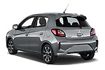 Car pictures of rear three quarter view of 2020 Mitsubishi Space-Star Red-Line-Edition 5 Door Hatchback Angular Rear