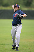 March 20th 2008:  Kyle Harper of the Cleveland Indians minor league system during Spring Training at Chain of Lakes Training Complex in Winter Haven, FL.  Photo by:  Mike Janes/Four Seam Images