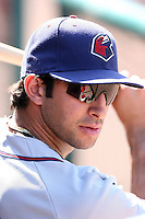 Mark Ori -  Lancaster JetHawks playing against the Lake Elsinore Storm at the Diamond, Lake Elsinore, CA - 05/16/2010.Photo by:  Bill Mitchell/Four Seam Images
