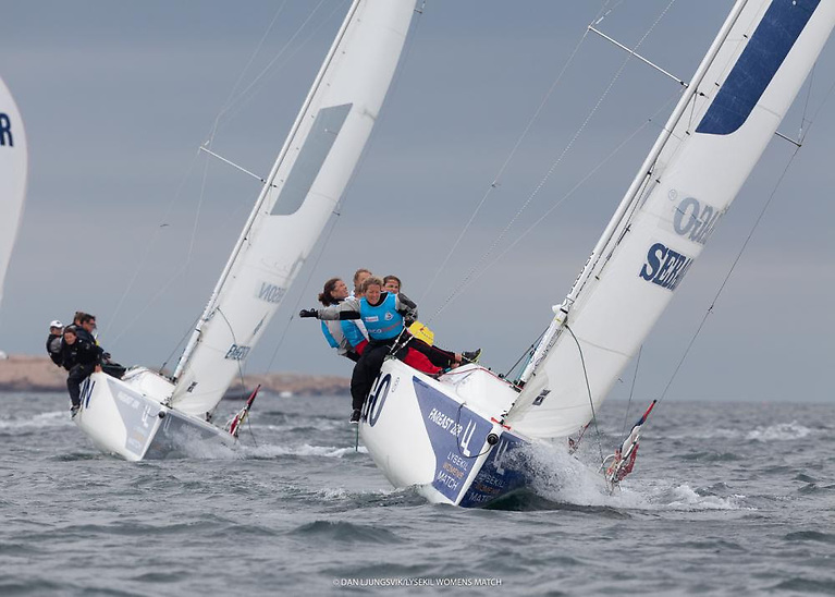 The winning team at the World Sailing Women's Match Racing World Championship are crowned World Champions