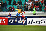 Persepolis vs Al-Gharafa during the 2009 AFC Champions League Group B match on April 08, 2009 at the Azadi Stadium, Tehran, Iran. Photo by World Sport Group