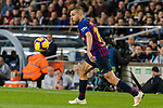 Jordi Alba Ramos of FC Barcelona in action during the La Liga 2018-19 match between FC Barcelona and Real Betis at Camp Nou, on November 11 2018 in Barcelona, Spain. Photo by Vicens Gimenez / Power Sport Images