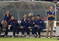 The National team of Costa Rica defeated the US Men's National team 1-0 during an International friendly match at Home Depot Center stadium in Carson, California on September 2, 2011.