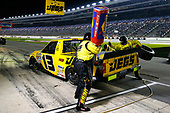 NASCAR Camping World Truck Series<br /> JAG Metals 350<br /> Texas Motor Speedway<br /> Fort Worth, TX USA<br /> Friday 3 November 2017<br /> Cody Coughlin, JEGS Toyota Tundra pit stop<br /> World Copyright: Russell LaBounty<br /> LAT Images