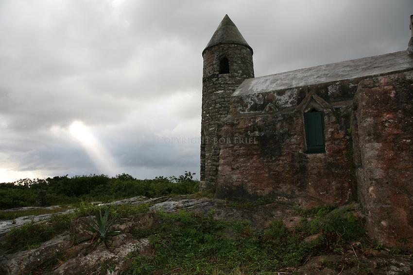 Father Jerome's Hermitage on Cat Island, Bahamas