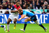 Virimi Vakatawa ( France ) - Gonzalo Garcia ( Italie ) <br /> Parigi Saint Denis 06-02-2016 Rugby Trofeo 6 Nazioni 2016 Francia Italia Foto Pestellini/Panoramic/Insidefoto