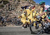 Gregor Mühlberger (AUT/Bora Hansgrohe) cheered by pokemon fans<br /> <br /> Stage 6 from Le Teil to Mont Aigoual 191km<br /> 107th Tour de France 2020 (2.UWT)<br /> (the 'postponed edition' held in september)<br /> ©kramon