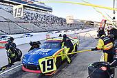 #19: Brandon Jones, Joe Gibbs Racing, Toyota Supra Menards/Jen Weld