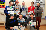 Garda Youth Diversion Football League 2012 Winners at the Boyne Garda Youth Project Awards in the Holy Family Community Centre...Photo NEWSFILE/Jenny Matthews..(Photo credit should read Jenny Matthews/NEWSFILE)