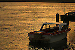 MOTOR BOAT IN WATERS OFF OLD MILL RESORT,SAN QUINTIN MEXICO