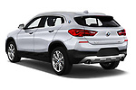 Car pictures of rear three quarter view of a 2018 BMW X2 Advantage 5 Door SUV angular rear