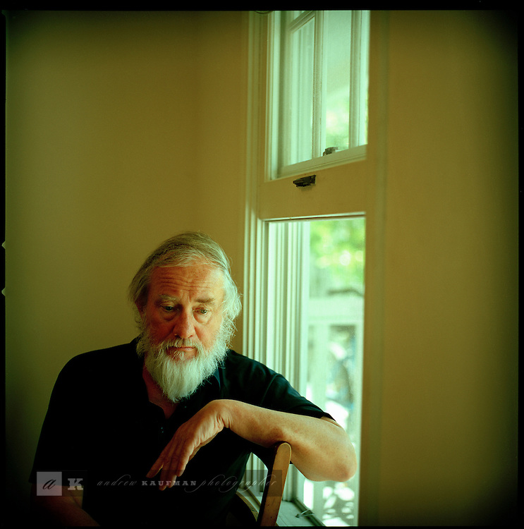 Author Robert Stone in his winter getaway, Key West, Florida. Some of his books are 1992's Outerbridge Reach, 1997's Beat and His Daughter, 1998's Damascus Gate and 2003's Bay of Souls.