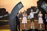 Romain Bardet (FRA/AG2R La Mondiale) wins the 2019 Tour de France KOM / Polka dot Jersey<br /> <br /> Stage 21: Rambouillet to Paris (128km)<br /> 106th Tour de France 2019 (2.UWT)<br /> <br /> ©kramon