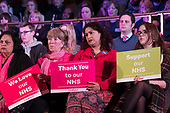 Labour Care for the NHS rally, Central Hall Westmintser, London.