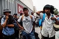 """Caravana del Migrante conformada por un contingente de 600 personas su mayoría de origen centroamericano, arribaron a bordo del tren conocido como """"La Bestia"""", provienen de la frontera Sur del País y con rumbo a la ciudad de Mexicali donde continuaran el viaje hasta Tijuana.<br /> La caravana tiene como objetivo solicitar <br /> asilo a Estados Unidos y algunos integrantes piensan solicitar una visa humanitaria en Mexico para laborar en los campos de Sonora y Baja California.<br /> (Photo: NortePhoto/Luis Gutierrez)"""