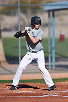 Cole Stenstrom (51), from Lino Lakes, Minnesota, while playing for the Tigers during the Under Armour Baseball Factory Recruiting Classic at Red Mountain Baseball Complex on December 28, 2017 in Mesa, Arizona. (Zachary Lucy/Four Seam Images)