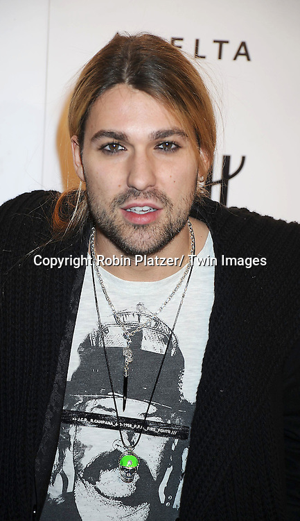David Garrett attending the amfAR New York Gala on February 9, 2011 at Cipriani Wall Street in New York City. Dame Elizabeth Taylor, President Bill Clinton and Diane von Furstenberg were honored.