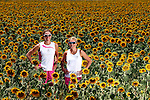 TRIATHLETES MIRINDA AND JULIE DIBENS PHOTOSHOOT