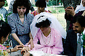 France 1990.A Kurdish wedding in Mainsat.France 1990.Un mariage kurde a Mainsat