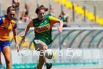 Hannah O'Donoghue, Kerry in action against Siofra Ní Chonnaill, Clare in the Lidl Ladies National Football League Division 2A Round 2 at Austin Stack Park, Tralee on Sunday.