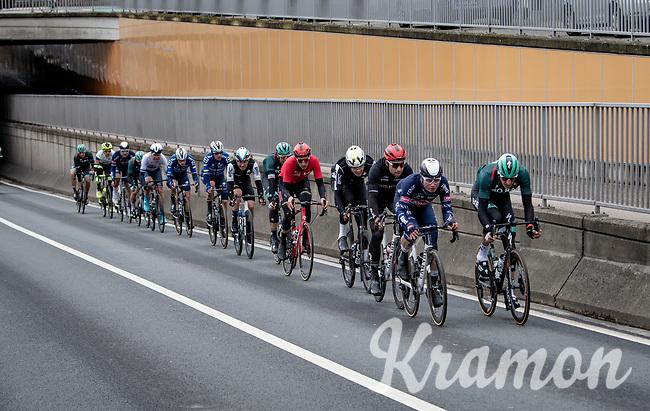 eventual race winner Jasper Philipsen (BEL/Alpecin-Fenix) in 2nd<br /> <br /> 109th Scheldeprijs 2021 (ME/1.Pro)<br /> 1 day race from Terneuzen (NED) to Schoten (BEL): 194km<br /> <br /> ©kramon