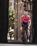 EF Education-Nippo in action during Stage 1 of La Vuelta d'Espana 2021, a 7.1km individual time trial around Burgos, Spain. 14th August 2021. <br /> Picture: Unipublic/Charly Lopez | Cyclefile<br /> <br /> All photos usage must carry mandatory copyright credit (© Cyclefile | Unipublic/Charly Lopez)