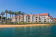 beach and luxury condominium, Coronado Island, San Diego, California, USA, Pacific Ocean