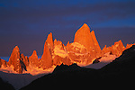 Monte Fitz Roy and Fitz Roy Massif, Los Glaciares National Park, Argentina
