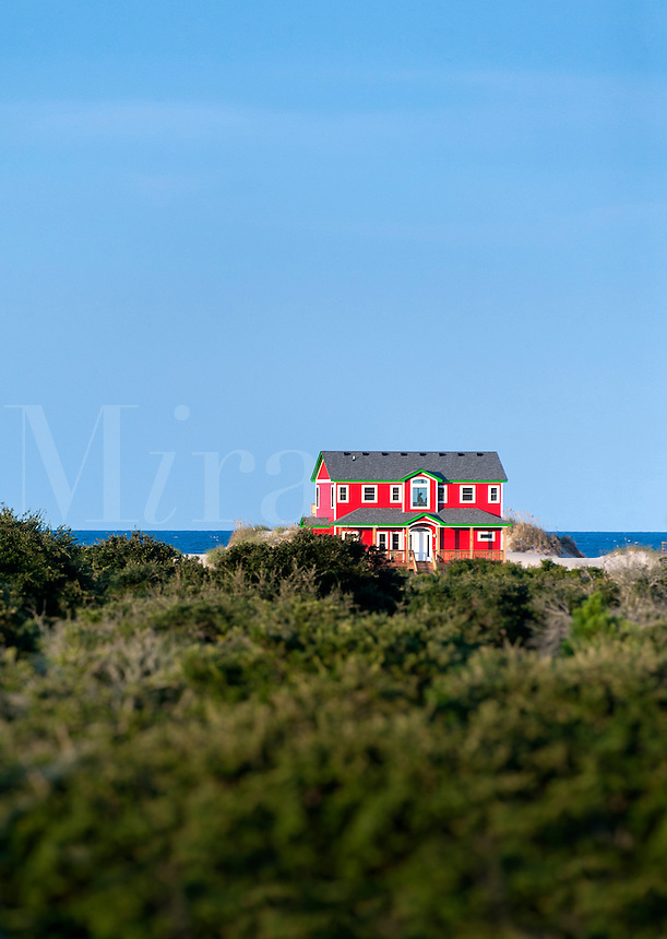 Waterfront Beach house, Nags Head, OBX, Outer Banks, North Carolina, USA
