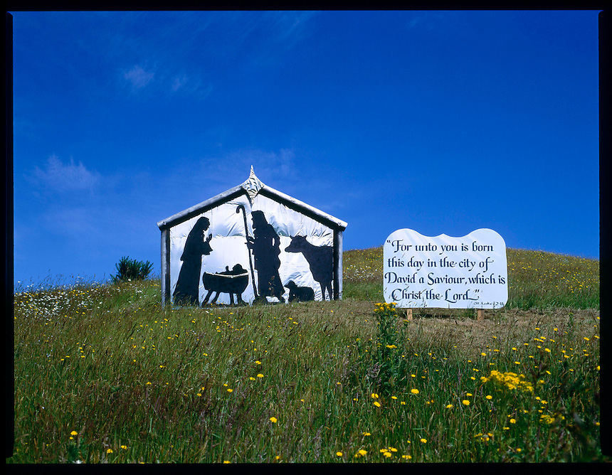 Flat Nativity Scene, 1992