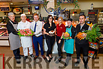 Garveys Supervalu Tralee, fresh food team.<br /> L to r: Gerry Hanafin (Butcher), Ger Collins (Baker), Craig Shanahan (Asst Manager), Sandra Lynch (Store Manager), Joy Murphy (Shop Floor), Niamh Stack (Deli Manager) and Kevin O'Donoghue (Fruit and Veg Manager).