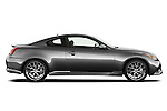 Passenger side profile view of a 2011 Infiniti G37 IPL Coupe