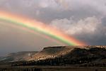 Rainbow over Kahneeta Indian Reservation, Oregon.