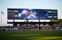 SAN JOSE, CA - SEPTEMBER 4: Display before a game between Colorado Rapids and San Jose Earthquakes at PayPal Park on September 4, 2021 in San Jose, California.