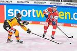 Eishockey: Deutschland – Tschechien am 01.05.2021 in der ARENA Nürnberger Versicherung in Nürnberg<br /> <br /> Deutschlands John Jason Peterka (Nr.94) gegen Tschechiens Dominik Masin (Nr.77)<br /> <br /> Foto © Duckwitz/osnapix/PIX-Sportfotos *** Foto ist honorarpflichtig! *** Auf Anfrage in hoeherer Qualitaet/Aufloesung. Belegexemplar erbeten. Veroeffentlichung ausschliesslich fuer journalistisch-publizistische Zwecke. For editorial use only.